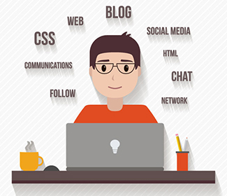 外贸公司网站的skype、facebook、twitter的网站在线链接代码