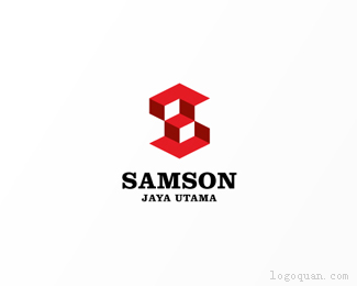 SAMSON立体logo