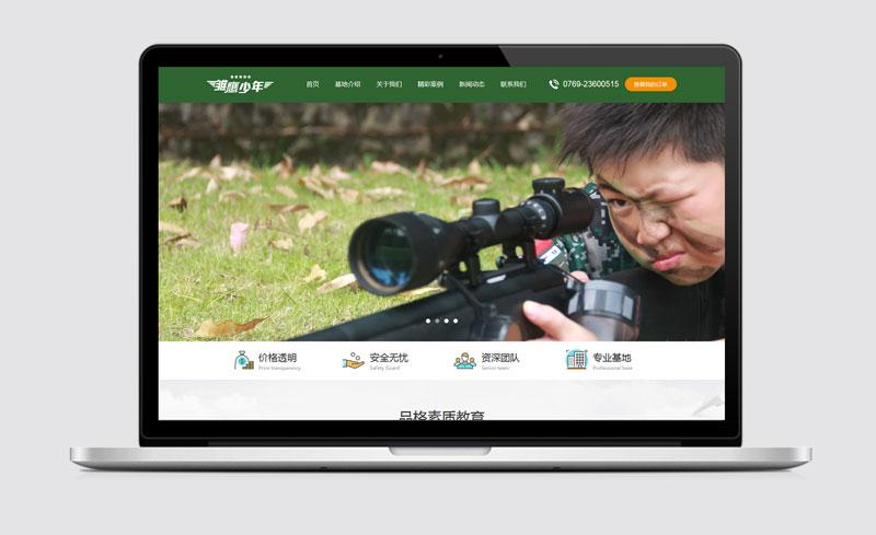 深圳某夏令营中文企业网站建设和seo优化解决方案